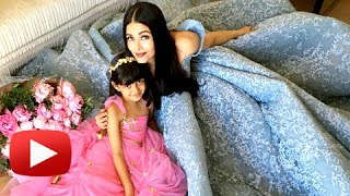 Aishwarya Rai Aaradhya Bachchan FAIRYTALE Photoshoot From Cannes 2017 | NEW PICTURES