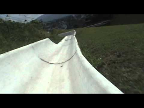 Alpine Slide Wiegand Front Seat POV Roller Coaster Mitsui Greenland Japan Arao