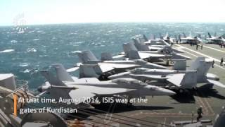 Fighting Isis On Board A Us Aircraft Carrier In The Gulf