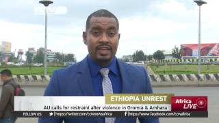 African Union calls for restraint following violence in Oromia & Amhara