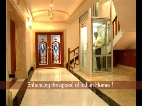 Luxury home elevator with glass finish youtube for Luxury homes with elevators