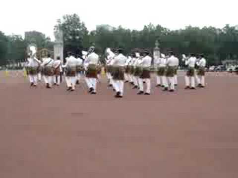 Askar Melayu di Buckingham Palace,London