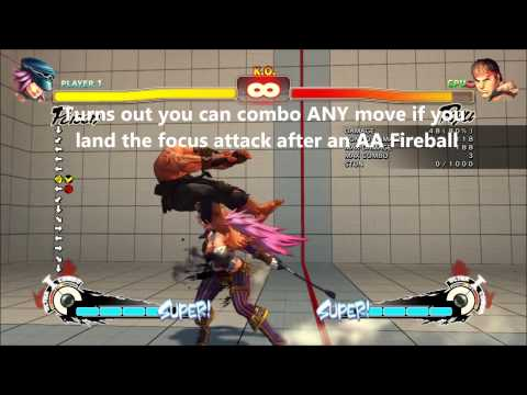 Poison Anti-air Angles By Mono - Ultra Street Fighter 4 Tutorial video