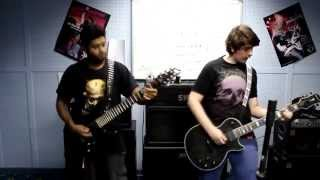 Video Eths Crucifere Dual Guitar cover