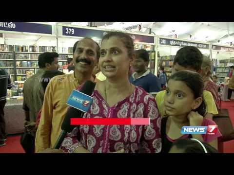 Chennai book fair to end today   13.06.2016   News7 Tamil