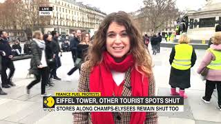 Yellow Vest Protests: Paris on lockdown as anti-Macron puts France on edge