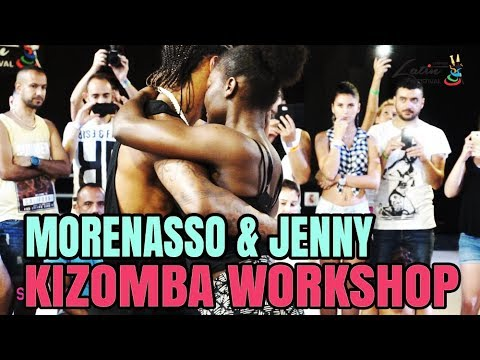 Morenasso - Jenny Kizomba Workshop Demo | LLF-2017
