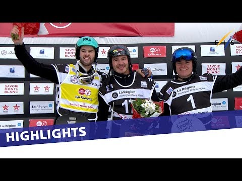 Germany's Paul Berg back to on top at Val Thorens | Highlights