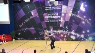 Michelle Uhl & Tobias Bludau - Deutsche Meisterschaft 2016
