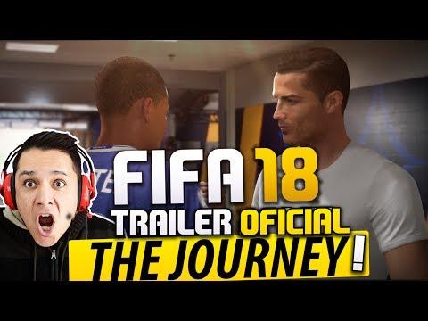 FIFA 18 THE JOURNEY - O RETORNO DE ALEX HUNTER!! TRAILER OFICIAL