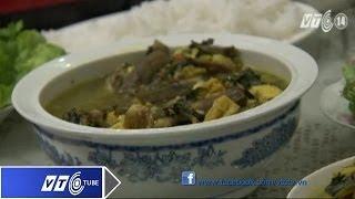 Đậm đà cá nheo om chuối đậu | VTC