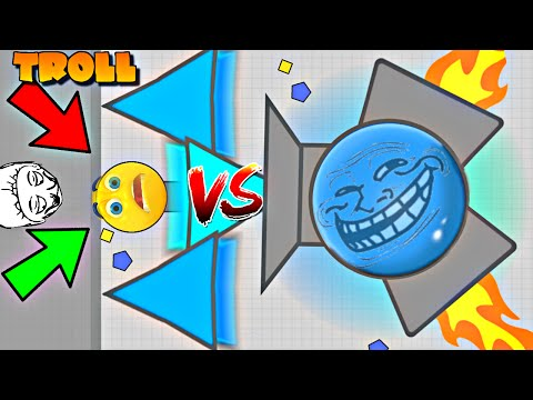 DIEP.IO BEST TROLLING PEOPLE EVER/ TRAPPING TRICK