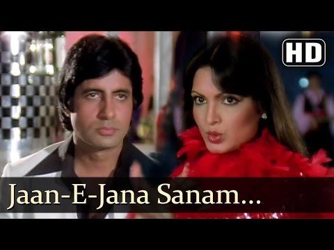 Sanam Tum Jahan - Amitabh Bachchan - Parveen Babi - Kaalia - Asha Bhonsle - Best Hindi Cabaret video