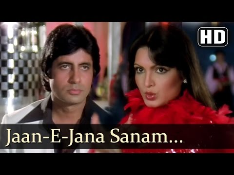 Sanam Tum Jahan - Amitabh Bachchan - Parveen Babi - Kaalia -...
