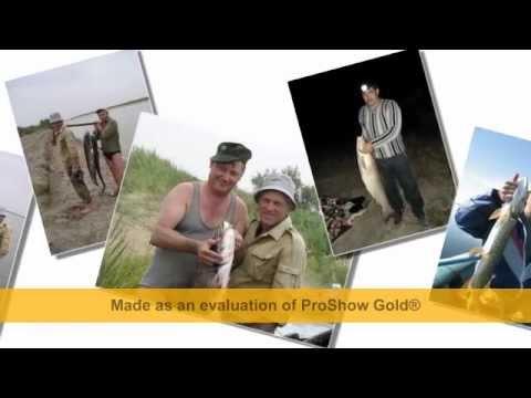 видео клип полотно на рыбалку