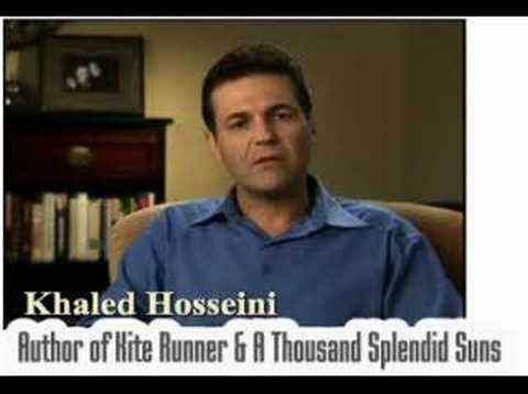 Khaled Hosseini -- Kite Runner & A Thousand Splendid Suns Video