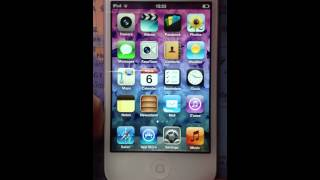 iPod touch 4g tricks