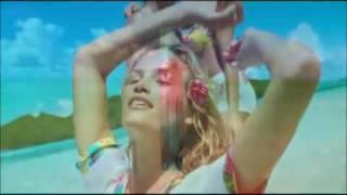 escada pacific paradise commercial with Jill de Jong