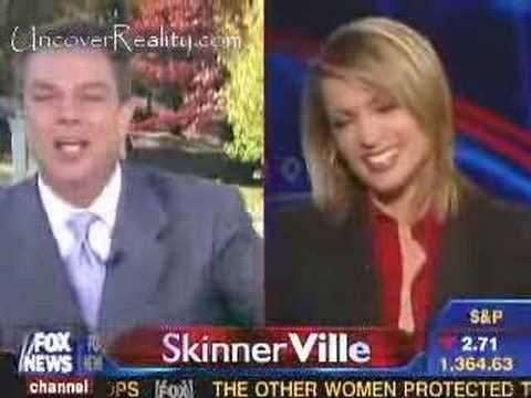 A funny slip up of a news reporter