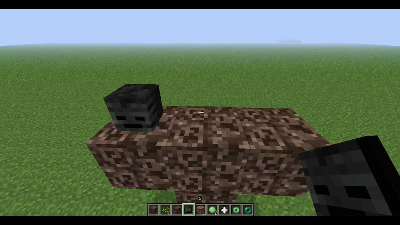 comment construire le wither
