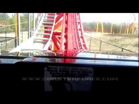 Intimidator 305 without trims Front Seat on-ride HD POV Kings Dominion