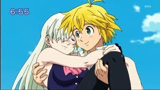 Meliodas Come Back To Life And Saves Elisabeth | Nanatsu no Taizai Season 2 Episode 22