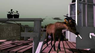 The Adventures of Goat - Visiting Gentle Breezes in Second Life