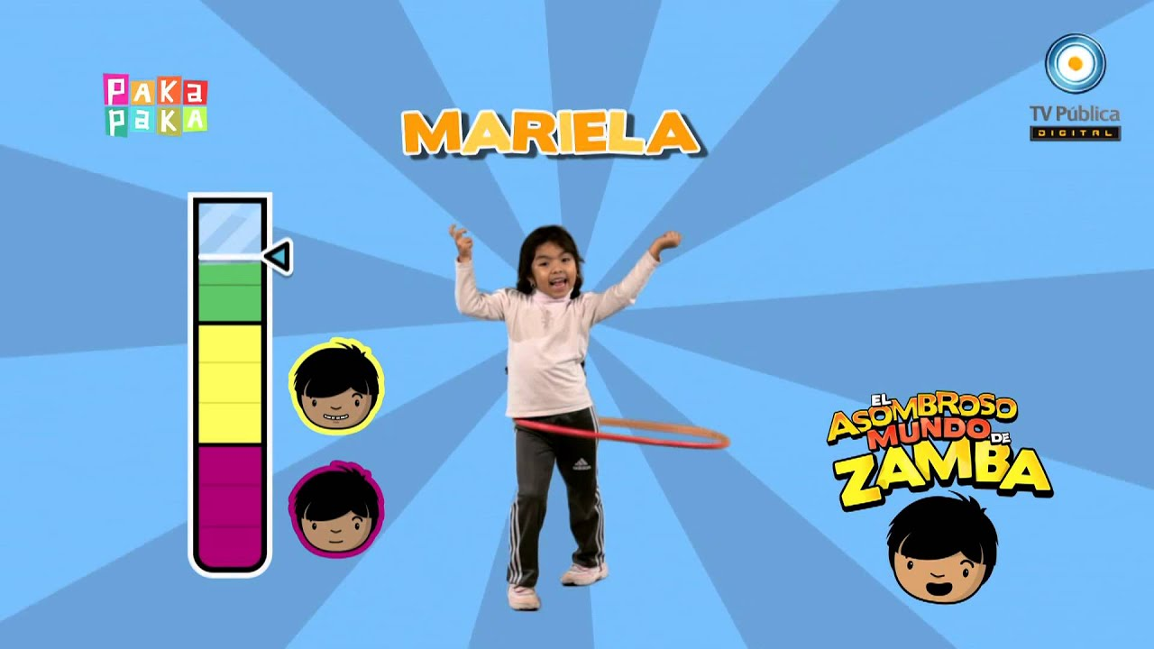Zamba asombroso mariela youtube for El asombroso espectaculo zamba