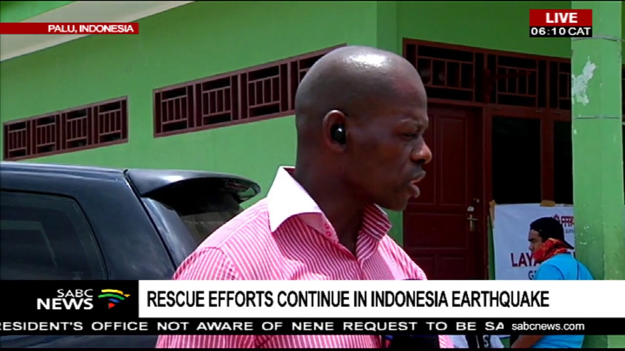 Rescue efforts continue in Indonesia