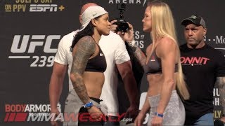 UFC 239 Ceremonial Weigh-Ins: Amanda Nunes vs. Holly Holm