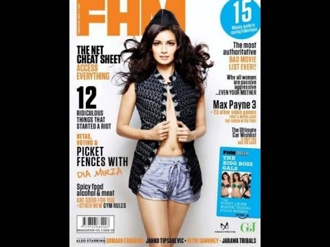 Bollywood's Hottest GQ, Maxim & FHM Magazine Cover Girls