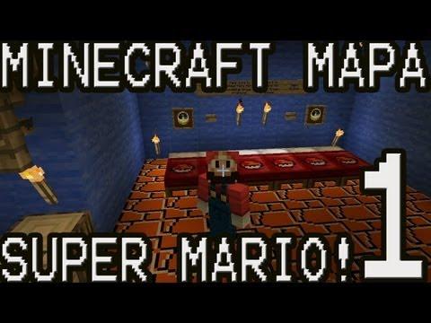 NUEVA SERIE Minecraft Mapa Super Mario Bros Cap.1