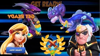 Boss Heroic battle - Fights Dragon Fury - Dragon Mania Legends   part 782 HD