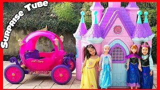 The Twins get the Disney Princess Carriage Ride on