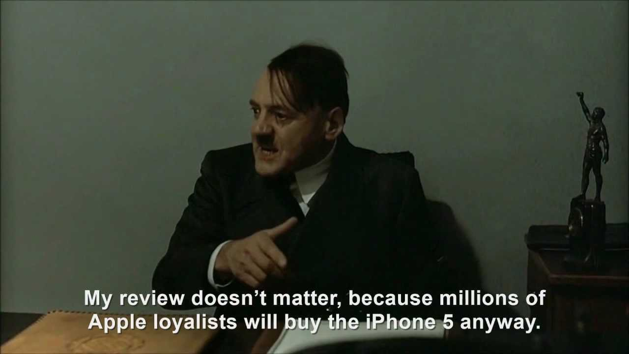 Hitler Reviews: iPhone 5