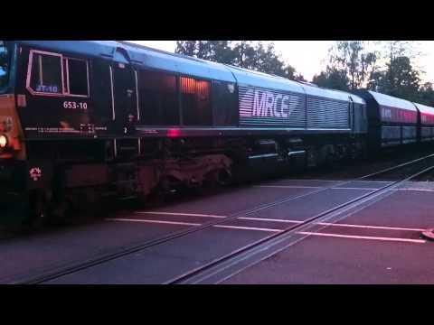 Class 66 DE 684 in de problemen