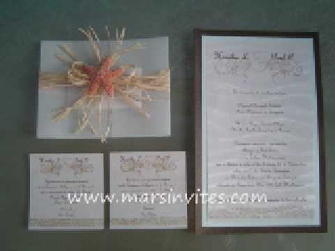 How To Make Handmade Wedding Invitations with best invitation template