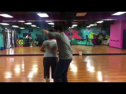 Lili Vargas n Aaron Zouk practice