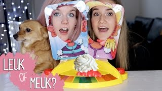 PieFace Showdown (ft. Melanie Latooy) | LEUK OF MEUK?