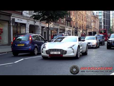 'Best of Britain' Supercars & Luxury Cars in London