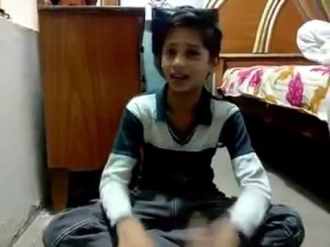Pakistani talent !!   A young village boys sing qawwali  tu