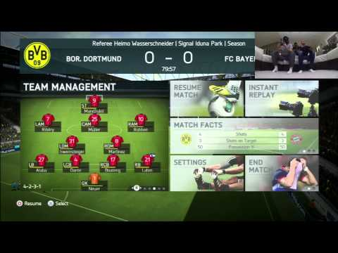 Arsenal FC Footballer Kieran Gibbs vs Fifa Playa at FIFA 14
