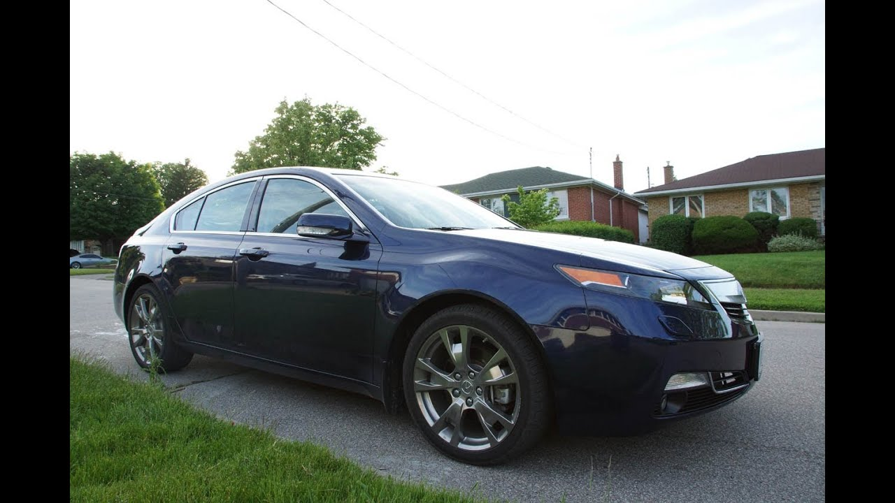 Acura Tl Sh Awd Review >> 2013 Acura TL Elite SH-AWD Review - YouTube