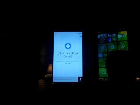 Presentacion de Cortana en español por Microsoft España