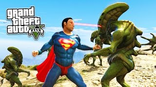 GTA 5 PC Mods - SUPERMAN MOD w/ SUPER MAN POWERS! GTA 5 Superman Mod Gameplay! (GTA 5 Mods Gameplay)