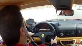 POV Ferrari Testarossa! You drive it and listen to that MUSIC!!