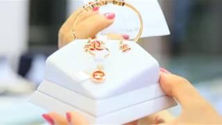 100 Bộ trang sức vàng Italy 18k 750