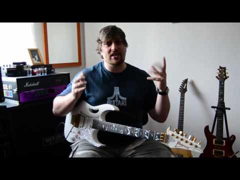 Ibanez Jem and Jack Daniels fuelled Guitar Techniques!