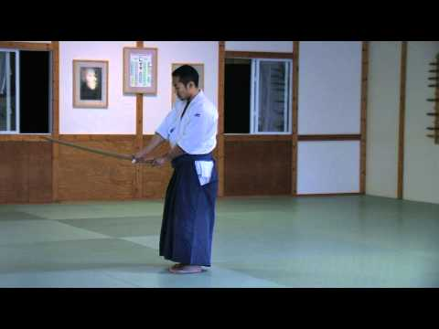 Aikido With Bokken-Toyoda Center Dojo-West Michigan Image 1