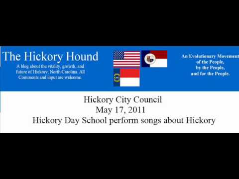 Hickory Day School Singing at City Council